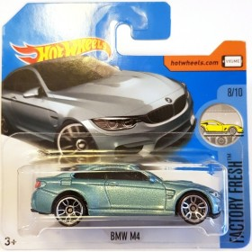 Hot Wheels BMW M4 Factory Fresh 2017 Açık Mavi