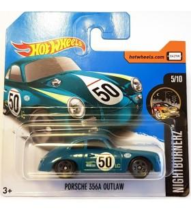 Hot Wheels Porsche 356A Outlaw HW Showroom 2017 Yesil
