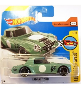 Hot Wheels Fairlady 2000 Legends Of Speed 2017 Yesil