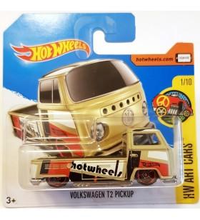 Hot Wheels Volkswagen T2 Pickup HW Art Cars 2017 Bej