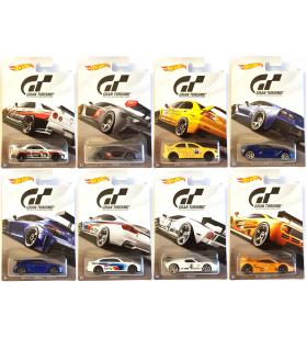 Hot Wheels Gran Turismo 2017 Tam Seri 8 Araba