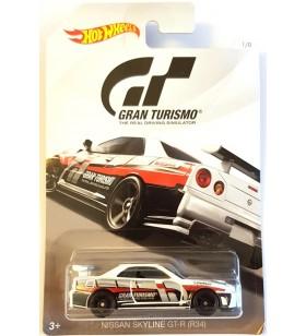 Hot Wheels Gran Turismo 2017 No.1 Nissan Skyline GT R34