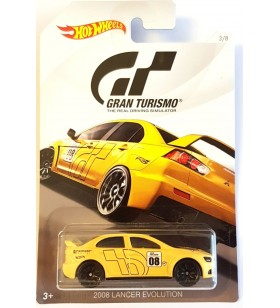 Hot Wheels Gran Turismo 2017 No.3 2008 Lancer Evolution