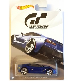 Hot Wheels Gran Turismo 2017 No.4 14 Corvette Stingray