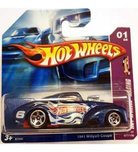 Hot Wheels 1941 Willys Coupe Hot Wheels Racing 2007