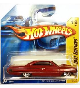 Hot Wheels 1964 Ford Galaxy 500XL First Editions 2007