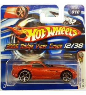 Hot Wheels 2006 Dodge Viper Coupe First Editions 2006 Kirmizi