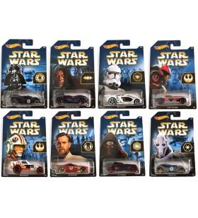 Hot Wheels Star Wars Seri 1 Tam seri 8 Araç