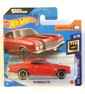 Hot Wheels 70 Chevelle SS Screen Time Fast and Furious