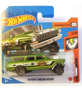 Hot Wheels 64 Chevy Nova Wagon Gasser Muscle Mania