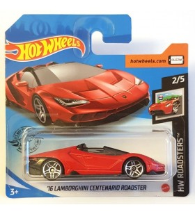 Hot Wheels 16 Lamborghini Centenario Roadster 2020