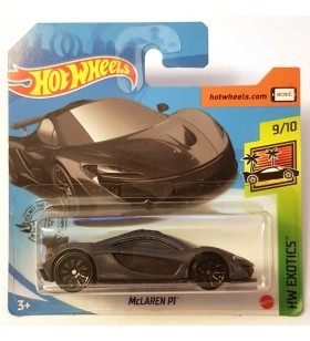 Hot Wheels Mclaren P1 HW Exotics 2020 Koyu Gri