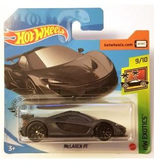 Hot Wheels Mclaren P1 HW Exotics 2020 Koyu Gri