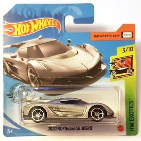 Hot Wheels Königsegg Jesko NW Exotics Metalik Gri