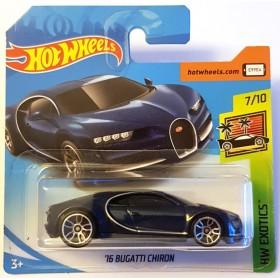 Hot Wheels 16 Bugatti Chiron HW Exotics Lacivert