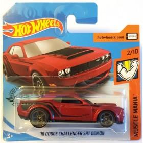 Hot Wheels 18 Dodge Challenger SRT Demon Muscle Mania