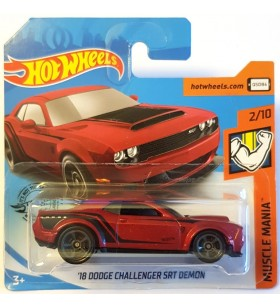 Hot Wheels 18 Dodge Challenger SRT Demon Muscle Mania