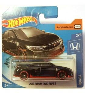 Hot Wheels 2018 Honda Civic Type R Siyah