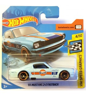 Hot Wheels 65 Mustang 2+2 Fastback Gulf