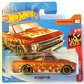 Hot Wheels 67 Chevy C10 Pickup HW Flames Bakır Rengi