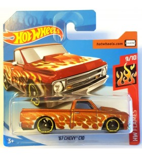 Hot Wheels 67 Chevy C10 Pickup HW Flames Bakır Rengi