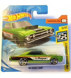 Hot Wheels 68 Dodge Dart HW Speed Garage