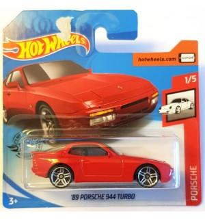 Hot Weels 89 Porsche  944 Turbo Porsche Series Kırmızı