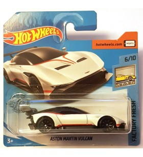 Hot Wheels Aston Martin Vulcan Factory Fresh Beyaz