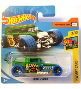 Hot Wheels Bone Shaker HW Art Cars Yeşil