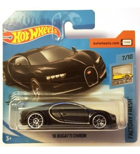 Hot Wheels 16 Bugatti Chiron Factory Fresh Siyah