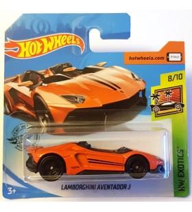 Hot Wheels Lamborghini Aventador J HW Exotics Turuncu