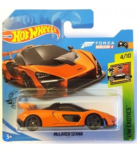 Hot Wheels Mclaren Senna HW Exotics 2019 Turuncu