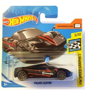 Hot Wheels Pagani Huayra HW Speed Graphics Siyah
