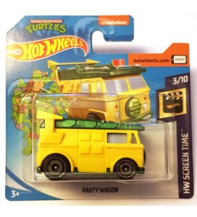 Hot Wheels Party Wagon HW Screen Time Ninja Turtles