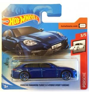 Hot Wheels Porsche Panamera Turbo S E-Hybrid Mavi