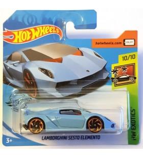 Hot Wheels Lamborghini Sesto Elemento Buz Mavisi