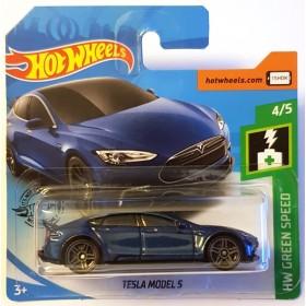Hot Wheels Tesla Model S HW Green Speed