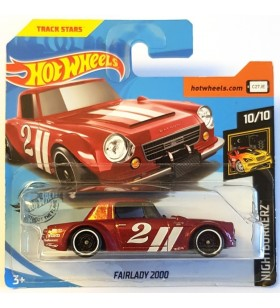 Hot Wheels Fairlady 2000 Nightburners Koyu Kırmızı