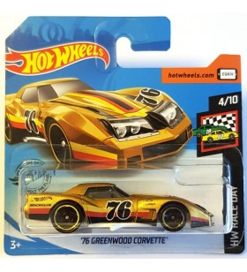 Hot Wheels 76 Greenwood Corvette HW Race Day Altın
