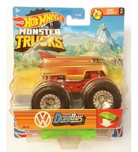 Hot Wheels Volkswagen Drag Bus Monster Trucks Paint Crush