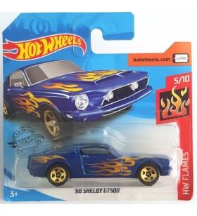 Hot Wheels 68 Shelby GT500 HW Flames Mavi