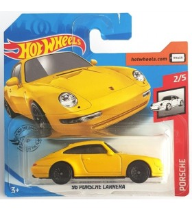 Hot Wheels 96 Porsche Carrera Porsche Series Sarı