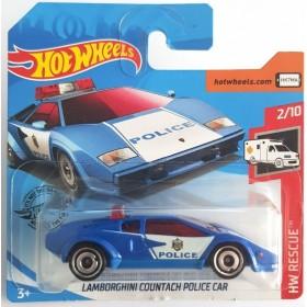 Lamborghini Countach Police Car HW Resque Mavi