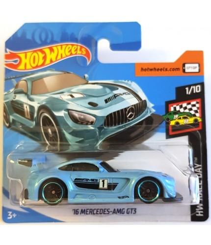 Hot Wheels 16 Mercedes AMG GT3 HW Race Day 2019 Mavi