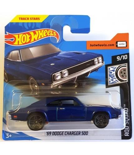 Hot Wheels 69 Dodge Charger 500 Rod Squad 2019