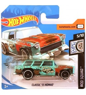 Hot Wheels Classic 55 Nomad Rod Squad 2019