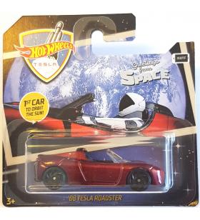 Hot Wheels 08 Tesla Roadster Özel Uzay Kartlı 2019