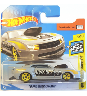 Hot Wheels 10 Prostock Camaro 2018 Mooneyes Gri