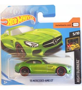 Hot Wheels 15 Mercedes AMG GT Nightburners 2018