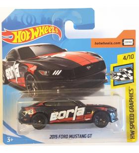 Hot Wheels 2015 Ford Mustang GT 2018 Siyah